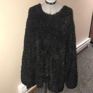 Denim 24/7 Fuzzy Sweater